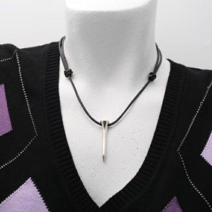Halsband peg i sterling silver